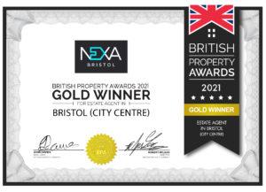 British Property Awards Certificate